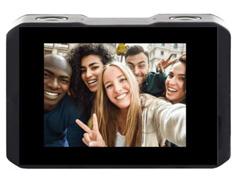 Câmera de Ação Xtrax com Visor Fronta Selfie 4K Preta - 2