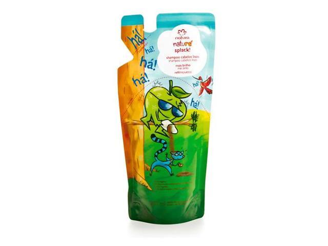 Refil Splack! Shampoo Cabelos Lisos Natura Naturé 250mL