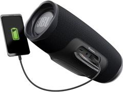 Caixa de Som Bluetooth JBL Charge 4 30W à prova d'água Connect+ Preta - 4