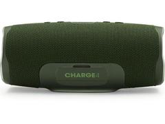 Caixa de Som Bluetooth JBL Charge 4 30W à prova d'água Connect+ Verde - 2