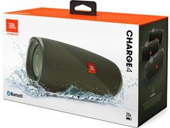 Caixa de Som Bluetooth JBL Charge 4 30W à prova d'água Connect+ Verde - 5