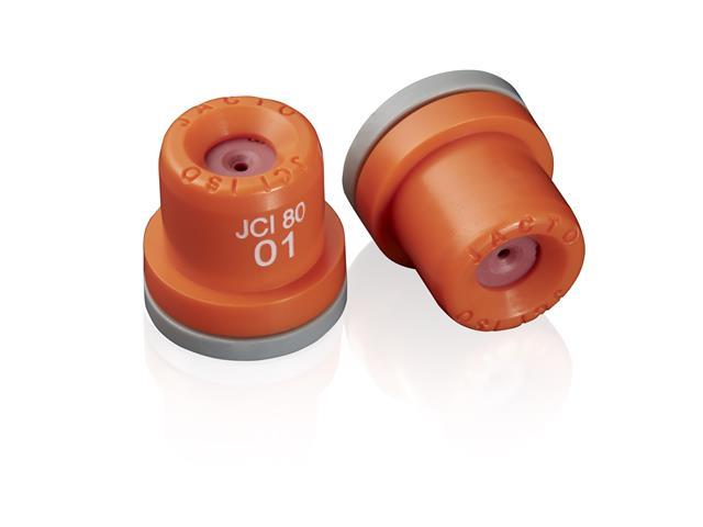 Combo Bico Pulverizador Jacto Cone JCI 01 Laranja 10 unidades
