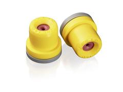 Combo Bico Pulverizador Jacto Cone JCI 02 Amarelo 10 unidades