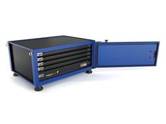 Caixa para Ferramentas Tramontina Pickup Box Azul 82 x 100 x 50 cm - 1
