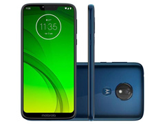 "Smartphone Motorola Moto G7 Power 64GB Duo Tela 6.2""Câm 12MP Azul Navy"