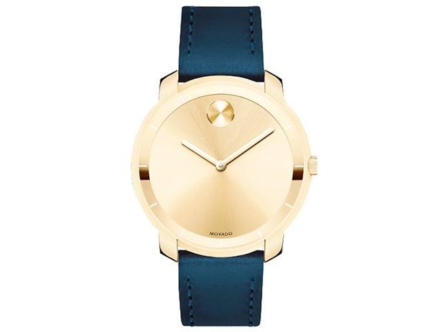 Relógio Movado Feminino Couro Azul - 3600474
