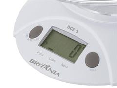 Balança de Cozinha Digital Britânia BCZ5 até 5kg - 1