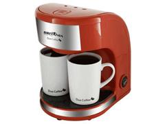 Cafeteira Elétrica Britânia Duo Coffee 2 Xícaras Vermelha 450W