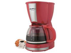 Cafeteira Elétrica Britânia CB30 Vermelha 30 Xícaras 800W - 5