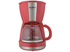 Cafeteira Elétrica Britânia CB30 Vermelha 30 Xícaras 800W - 1