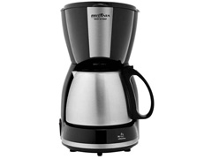 Cafeteira Elétrica Britânia CP30 Preta e Inox 30 Xícaras 800W - 1