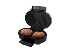 Grill Britânia Gourmet Burger Preto 1000W - 3
