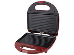 Grill e Sanduicheira Britânia Crome Inox Vermelha 750W - 1