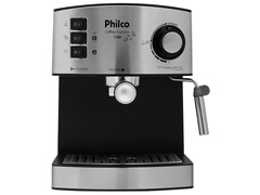 Cafeteira Elétrica Philco Coffee Express 15 Bar Prata 850W - 1