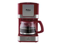 Cafeteira Elétrica Philco PH16 Vermelha e Inox 15 Xícaras 550W - 2