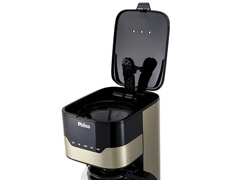 Cafeteira Elétrica Philco PCFD38CH Touch Bronze 38 Xícaras 800W - 4