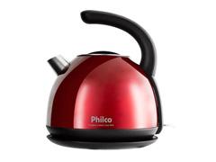 Chaleira Elétrica Philco Classic Inox Red PHC20V 1,7 Litros