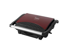 Grill e Sanduicheira Philco Press Inox Red