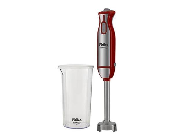 Mixer Philco PMX700 com Copo Medidor Vermelho 700W