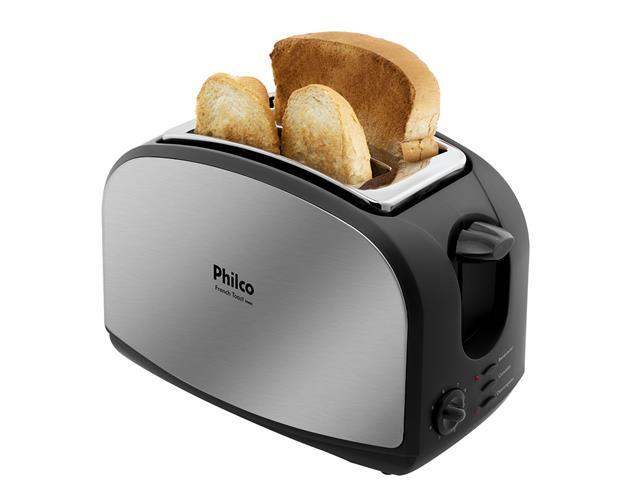 Torradeira Elétrica Philco French Toast Inox 900W