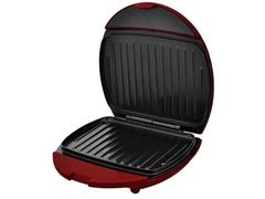 Mini Grill e Sanduicheira Philco Inox Vermelho 750W - 1