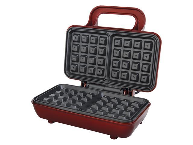 Máquina de Waffle Philco Maker Retrô PWM01V Vermelha 700W
