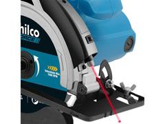 Serra Circular Philco PSC01 com Disco de Corte e Guia Laser 1500W - 1