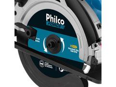 Serra Circular Philco PSC01 com Disco de Corte e Guia Laser 1500W - 2