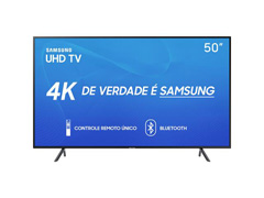 "Smart TV LED 50"" Samsung Ultra HD 4K HDR c/Conv.TV Digital 3 HDMI 2USB - 1"