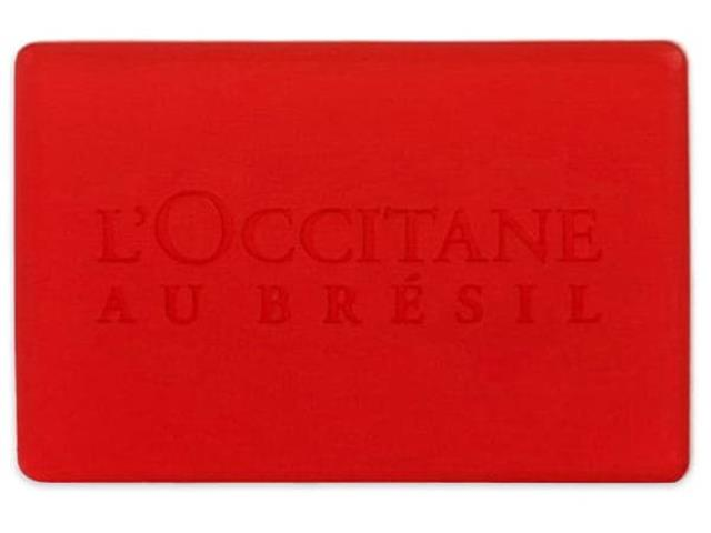 Sabonete Vegetal Vermelho Bromélia L'Occitane au Brésil 75g