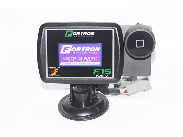 Monitor Fortron F15 Plantio Completo Plantadeira 12 Linhas de Semente
