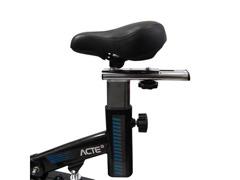Bicicleta para Spining Acte E17 PRO Preto e Azul - 3