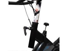 Bicicleta para Spining Acte E17 PRO Preto e Azul - 4
