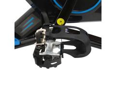 Bicicleta para Spining Acte E17 PRO Preto e Azul - 5