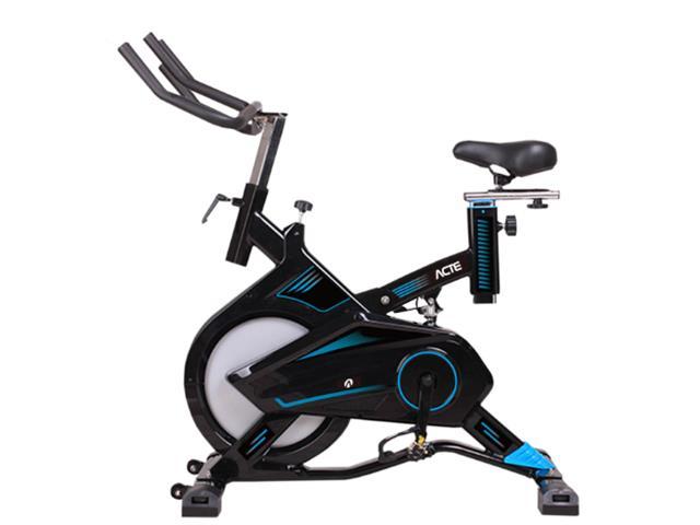 Bicicleta para Spining Acte E17 PRO Preto e Azul