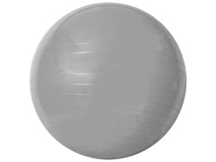 Bola de Ginástica Gym Ball Acte T9-55 com Bomba de Ar Prata 55cm