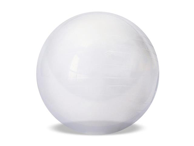 Bola de Ginástica Gym Ball Crystal Acte T9-T Transparente 65cm