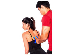 Massageador Manual Acte T152-AZ com 4 Esféras Azul - 2