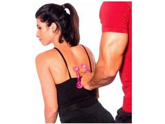Massageador Manual Acte T152-RS com 4 Esféras Rosa - 2