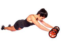 Roda para Exercícios Abdominais Acte T145 Dupla - 2