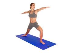 Tapete para Yoga Acte T11 Texturizado Mat Azul - 2