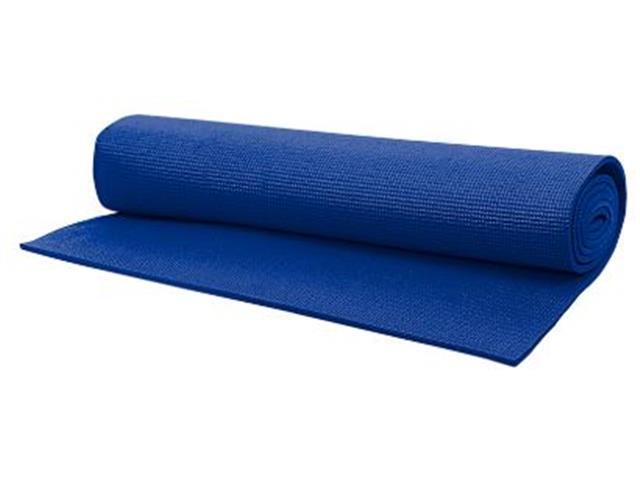 Tapete para Yoga Acte T11 Texturizado Mat Azul