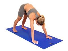 Tapete para Yoga Acte T11 Texturizado Mat Azul - 4