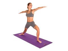 Tapete para Yoga Acte T10 Texturizado Mat Roxo - 2