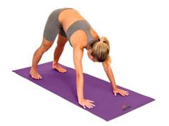 Tapete para Yoga Acte T10 Texturizado Mat Roxo - 4