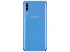 """Smartphone Samsung Galaxy A70 128GB 6GB Tela 6.7"""" Câm 32+5+8MP Azul - 3"""