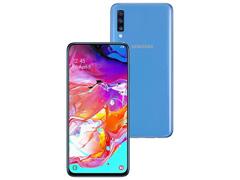 """Smartphone Samsung Galaxy A70 128GB 6GB Tela 6.7"""" Câm 32+5+8MP Azul - 1"""