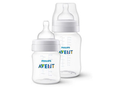 Kit Mamadeiras Anti-Colic 125 e 260Ml Clássica Philips Avent SCD372/01