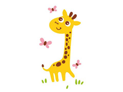 Mamadeira Anti-Cólica Girafa 260ml Clássica Philips Avent SCF821/12 - 2