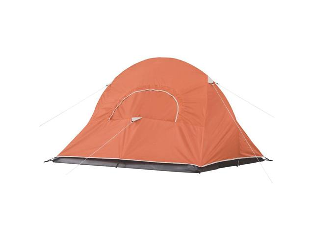 Barraca de Camping Coleman Hooligan Laranja com Sobreteto 2 Pessoas